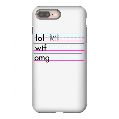 Practice Your Texting Iphone 8 Plus Case Designed By Milaart
