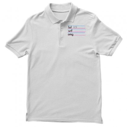 Practice Your Texting Men's Polo Shirt Designed By Milaart