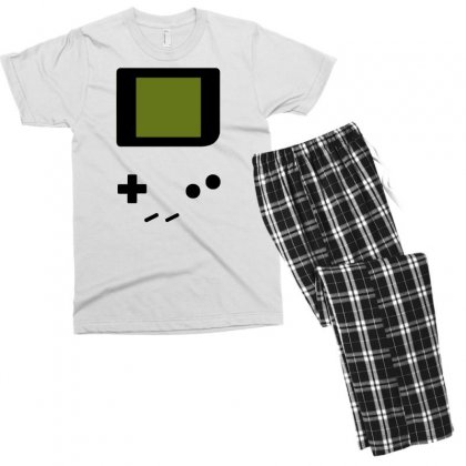 Press My Buttons Men's T-shirt Pajama Set Designed By Milaart