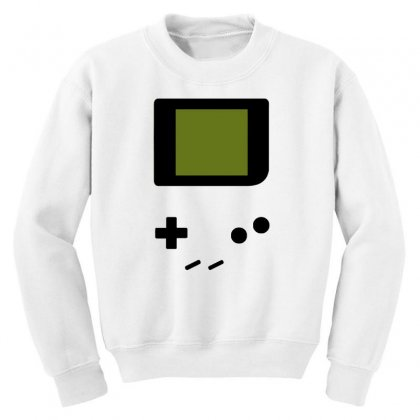 Press My Buttons Youth Sweatshirt Designed By Milaart