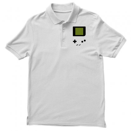 Press My Buttons Men's Polo Shirt Designed By Milaart