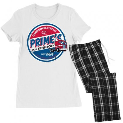 Prime's Autoshop Women's Pajamas Set Designed By Milaart