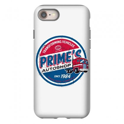 Prime's Autoshop Iphone 8 Case Designed By Milaart