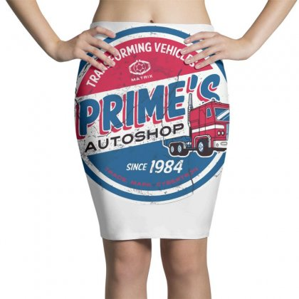 Prime's Autoshop Pencil Skirts Designed By Milaart