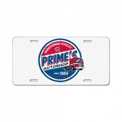 Prime's Autoshop License Plate Designed By Milaart