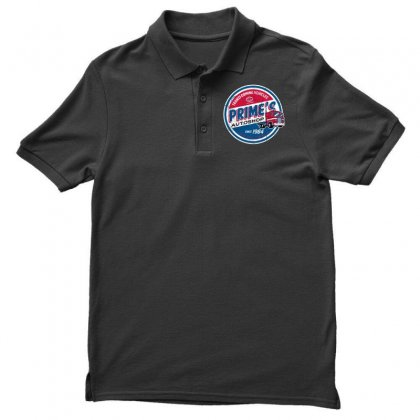 Prime's Autoshop Men's Polo Shirt Designed By Milaart
