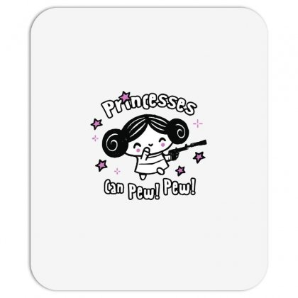 Princesses Can Pew! Pew! Too Mousepad Designed By Milaart