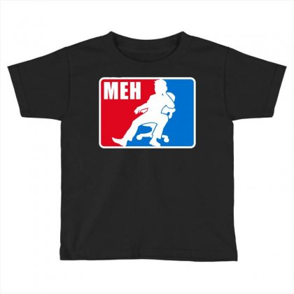 Pro Meh Toddler T-shirt Designed By Milaart