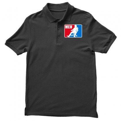 Pro Meh Men's Polo Shirt Designed By Milaart