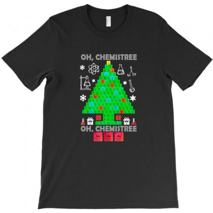 Oh Chemistree Funny Science Chemistry Christmas T-shirt Designed By Sr88