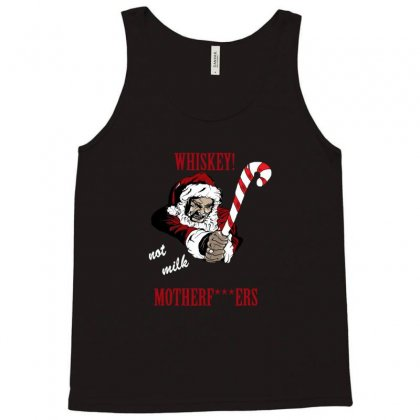 Angry Santa Ugly Christmas Tank Top Designed By Sr88