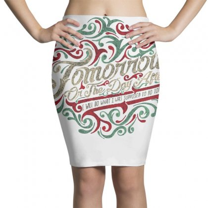 Procrastinate Pencil Skirts Designed By Milaart