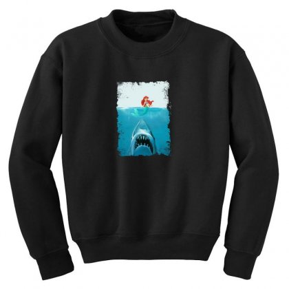 Shark Youth Sweatshirt Designed By Disgus_thing