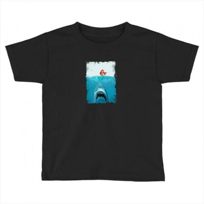 Shark Toddler T-shirt Designed By Disgus_thing
