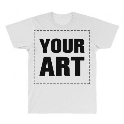 Your Design Name All Over Men's T-shirt Designed By Yourusername