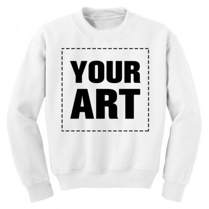 Your Design Name Youth Sweatshirt Designed By Yourusername