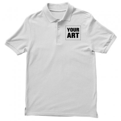 Your Design Name Men's Polo Shirt Designed By Yourusername