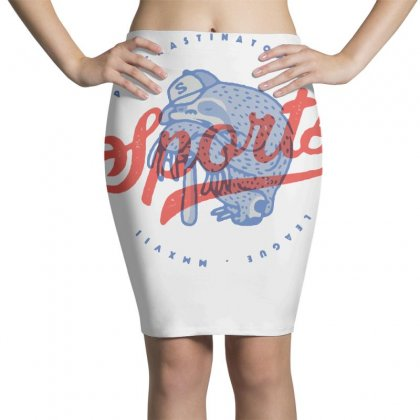 Procrastinators League Pencil Skirts Designed By Milaart