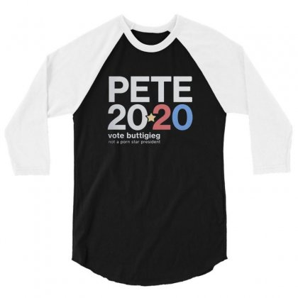 Pete 3/4 Sleeve Shirt Designed By Disgus_thing