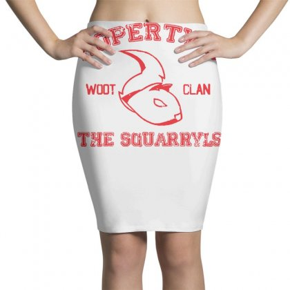 Property Of The Squarryls Pencil Skirts Designed By Milaart