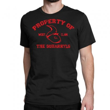 Property Of The Squarryls Classic T-shirt Designed By Milaart