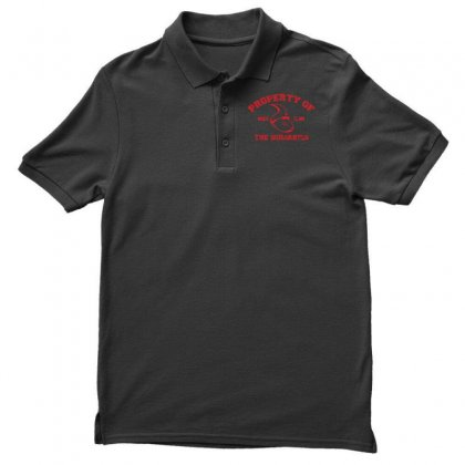 Property Of The Squarryls Men's Polo Shirt Designed By Milaart