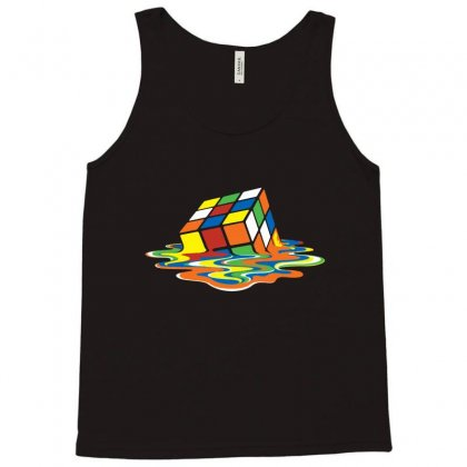 Meltingcube Tank Top Designed By Creative Tees
