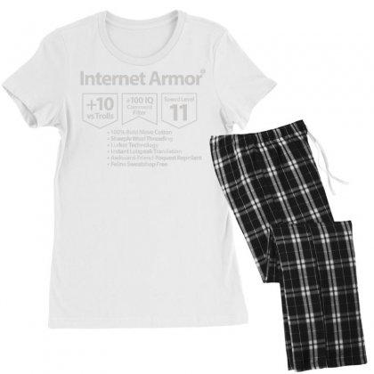 Protect Yourself Women's Pajamas Set Designed By Milaart