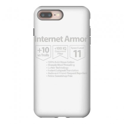 Protect Yourself Iphone 8 Plus Case Designed By Milaart