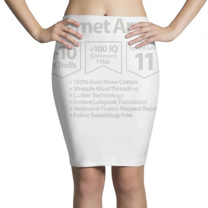 Protect Yourself Pencil Skirts Designed By Milaart