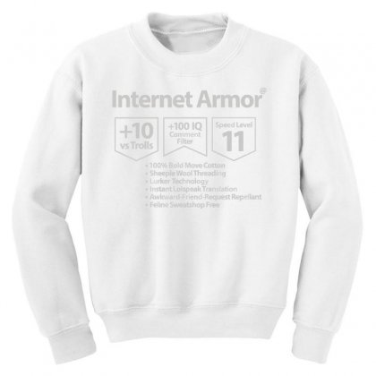 Protect Yourself Youth Sweatshirt Designed By Milaart