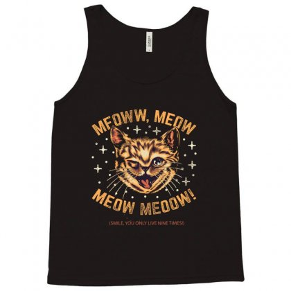 Meoww Tank Top Designed By Creative Tees