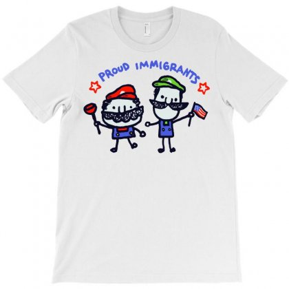 Proud Immigrants Ii T-shirt Designed By Milaart