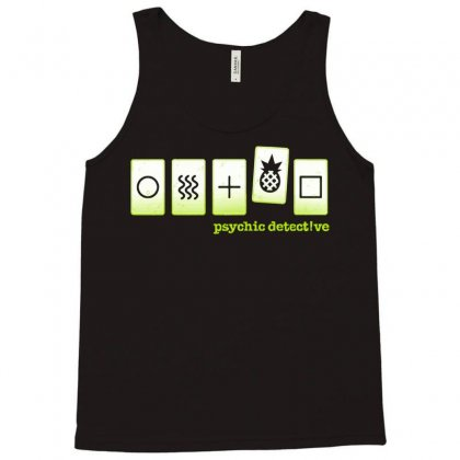 Psych Test Tank Top Designed By Milaart