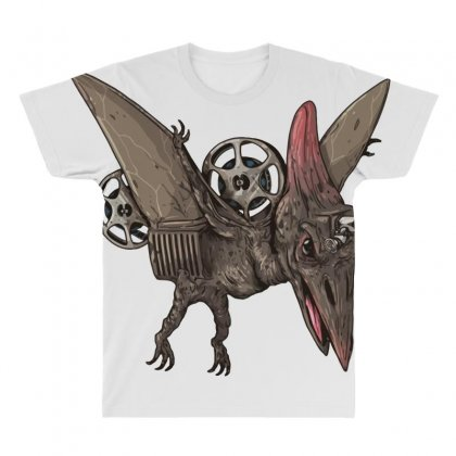 Pterodactyl Projector All Over Men's T-shirt Designed By Milaart