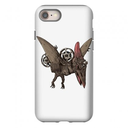 Pterodactyl Projector Iphone 8 Case Designed By Milaart