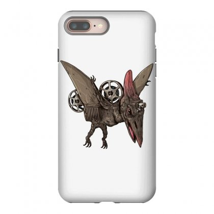 Pterodactyl Projector Iphone 8 Plus Case Designed By Milaart