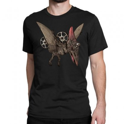 Pterodactyl Projector Classic T-shirt Designed By Milaart