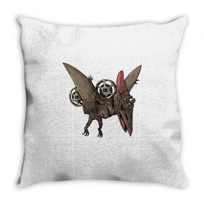 Pterodactyl Projector Throw Pillow Designed By Milaart