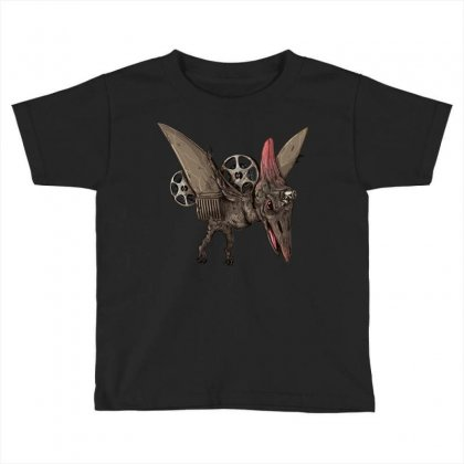 Pterodactyl Projector Toddler T-shirt Designed By Milaart