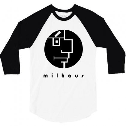 Milhaus 3/4 Sleeve Shirt Designed By Creative Tees