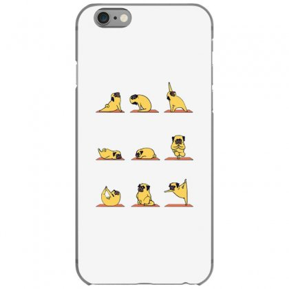 Pug Yoga Iphone 6/6s Case Designed By Milaart