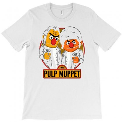 Pulp Muppet T-shirt Designed By Milaart