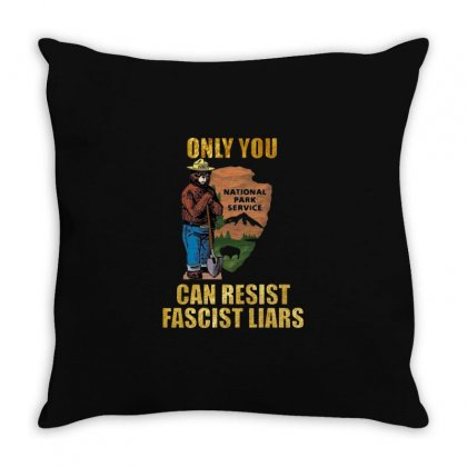 Only You Smokey Throw Pillow Designed By Creative Tees