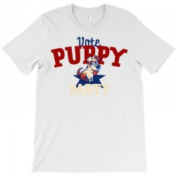 puppy politics T-Shirt | Artistshot