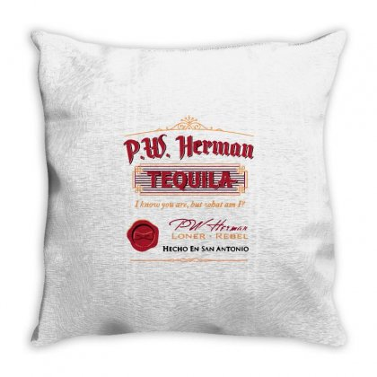 Pw Herman Tequila Throw Pillow Designed By Milaart
