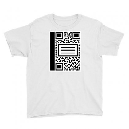 Qr Composition Youth Tee Designed By Milaart