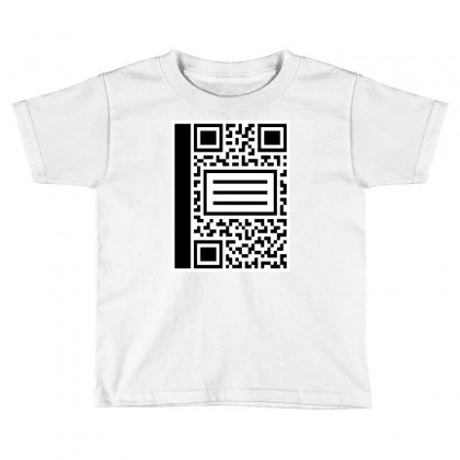 Qr Composition Toddler T-shirt Designed By Milaart