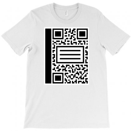 Qr Composition T-shirt Designed By Milaart