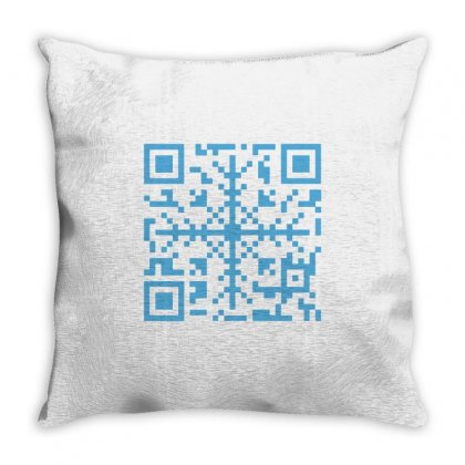 Qristmas Code Throw Pillow Designed By Milaart